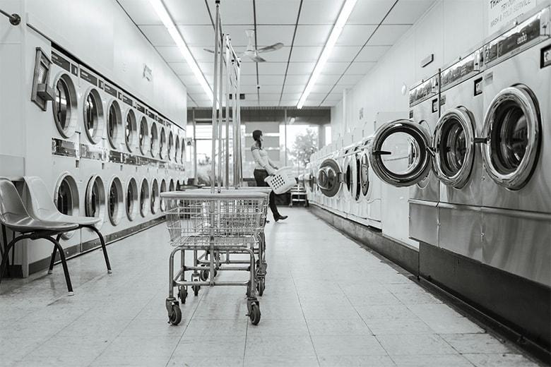 automatic self service laundry business improvement